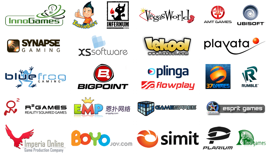 Game Studios Integrated with the GameZBoost Gaming Platform