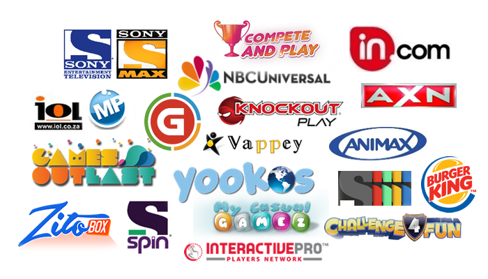Publishers Using the GameZBoost White Label Responsive Gaming Solutions