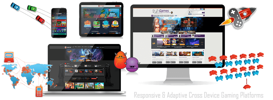 Anywhere, Anytime, Playtime with GameZBoost Responsive and Adaptive White Label Gaming Platforms
