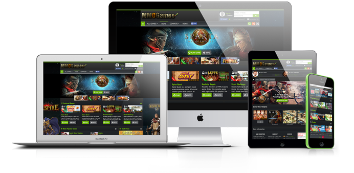 Anywhere, Anytime, Playtime with GameZBoost Responsive and Adaptive White Label Desktop MMO and Mobile Web Games Platforms and solutions