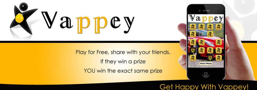 Vappey offers FREE, fun, brain stimulating skill based games where you can win great prizes. If they Win You Win – Points or Prizes – Whatever they win you win the exact same thing!