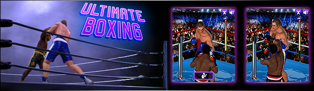Ultimate Boxing Mobile Web HTML5 Game