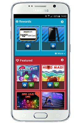 Smartphone Mobi Browser View of the GameZBoost Mobile Web Games Website - Adaptive and Responsive