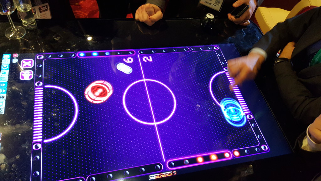 User Engagement on the Interactive Pro Tables along with the Interactive Pro Players Network