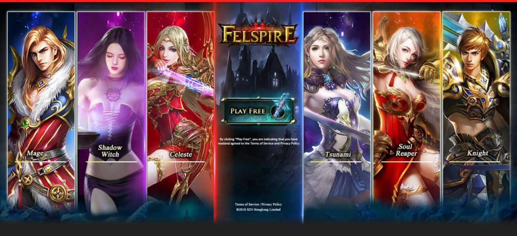 Felspire Game Landing Affiliate Marketing Page