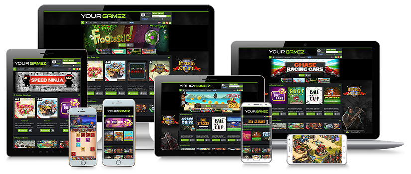 GameZBoost Responsive and Adaptive White Label Games Solution for Desktop Casual, MMO, RPG, RTS and Mobile Web and App Gaming Solutions