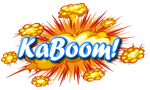 KaBoom Mini Games Branded Website