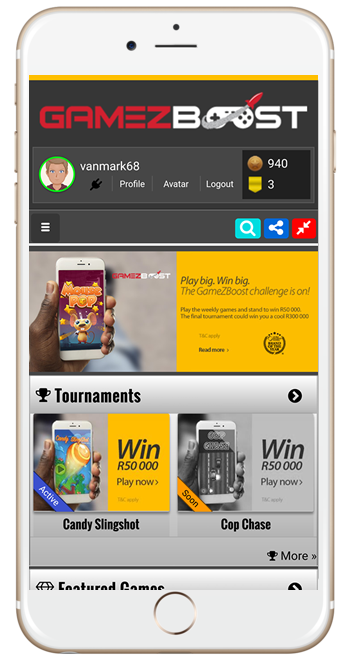 GameZBoost MTN Play Games Tournament
