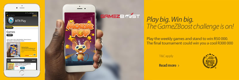 GameZBoost MTN Play Gaming Portal and Tournament