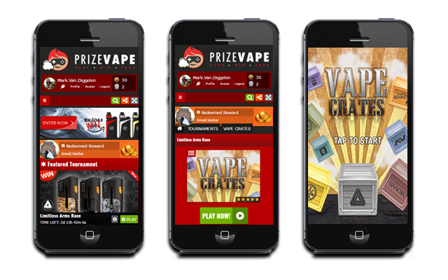 Example of an AdverGames client site