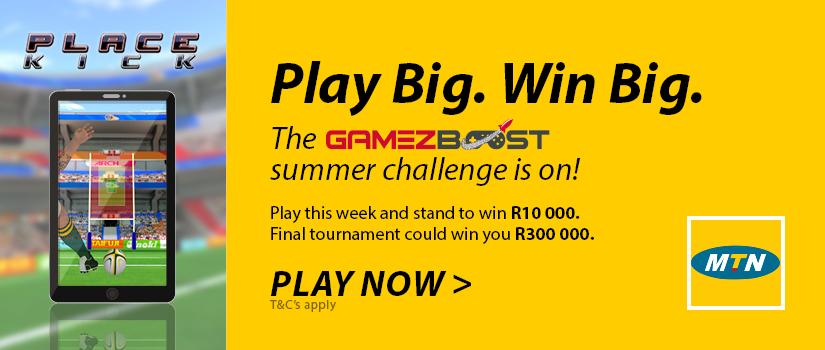 GameZBoost Summer Challenge - Satellite Event 1 - Place Kick