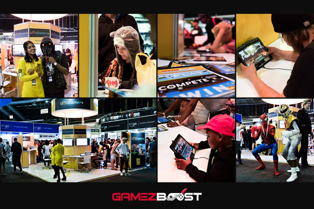 gave the GameZBoost team the opportunity to showcase the platform and the vast selection of games that are available on the platform, catering for a broad cross-section of gamers of all ages