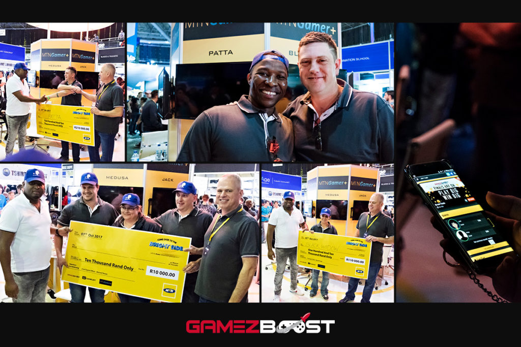 The runner up was Patta, who won R210,000 and 3rd place was taken by Black Widow, who won a cool R110,000.