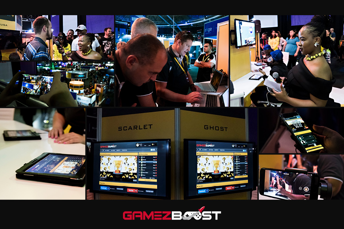 MTN Play GameZBoost Summer Challenge Live Finale at rAge Gaming Expo