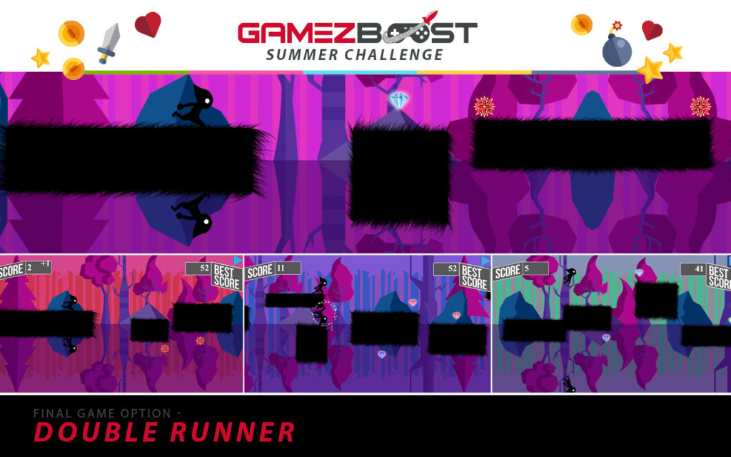 The game used for the final event of the MTN Play GameZBoost Summer Challenge was Double Runner