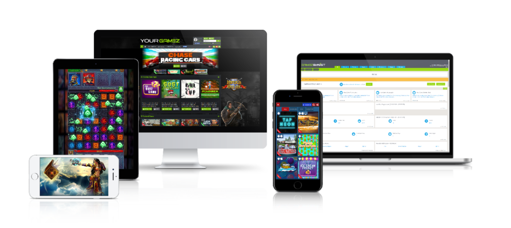 Platform - Mobile Browser Games Platform for Websites