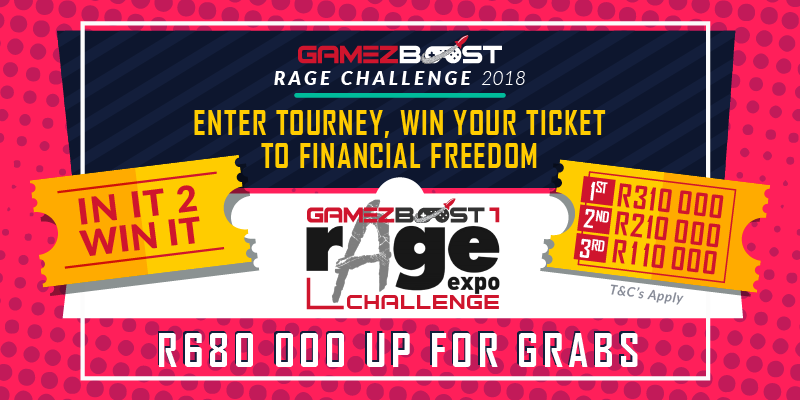 GAMEZBOOST RAGE CHALLENGE – GRAND FINALE ELIMINATOR TOURNAMENT