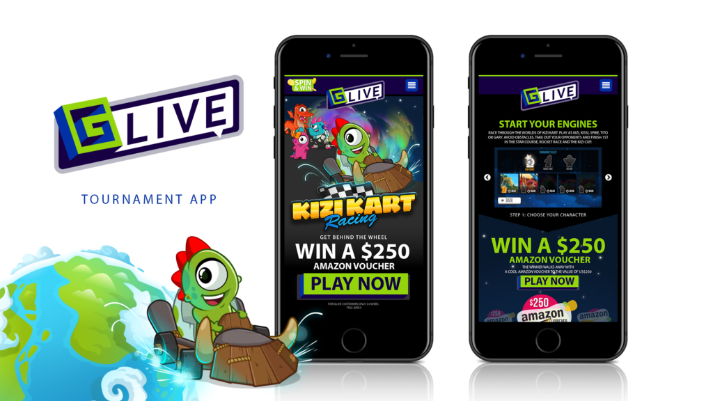 GLive New Tournament Platform - Home Page