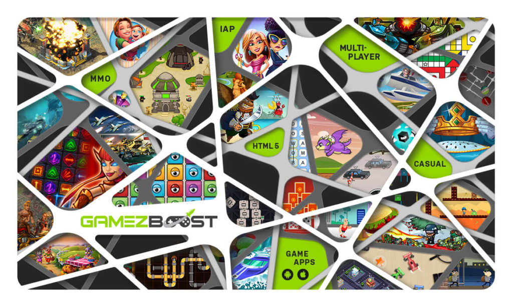 GameZBoost Games Catalog