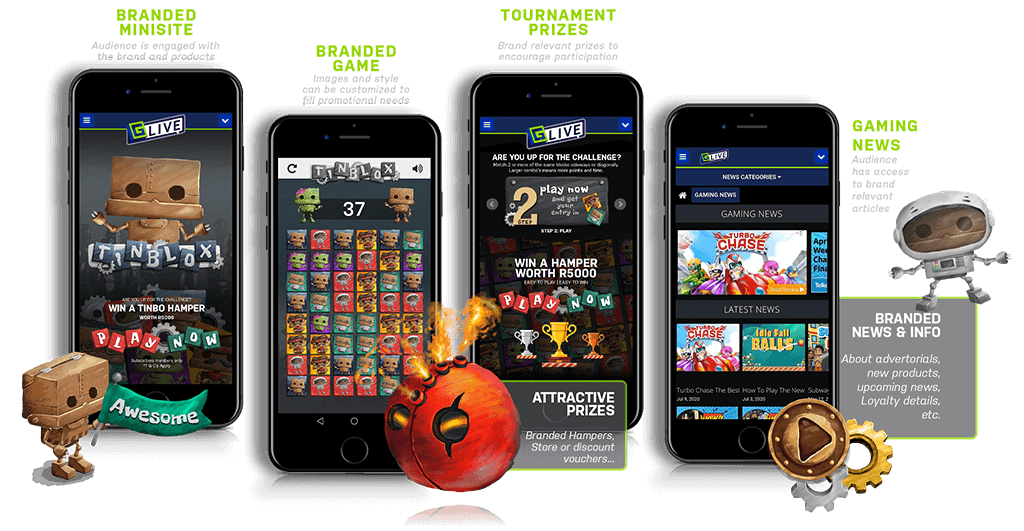 GameZBoost Branded Games and Tournaments