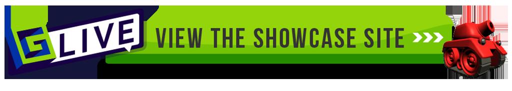 GLive GameZBoost Games Platform Showcase Site